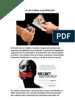 TRAFICO DE MULHERES E PROSTITUICAO