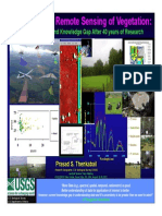 Hyperspectral Remote Sensing of Vegetation Prasad S. Thenkabail, John G. Lyon, Alfredo Huete1