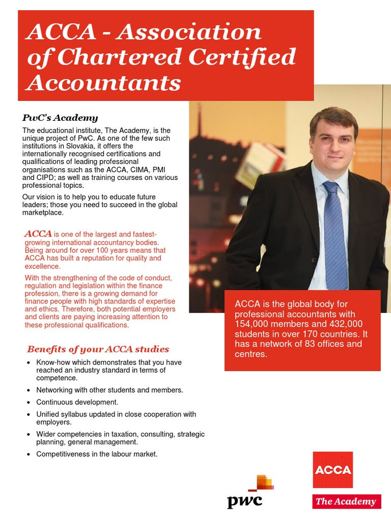 PWC Academy ACCA-Offering | Accountant | International Financial ...