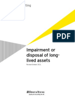 Impairment or Disposal of Long Lived Assets