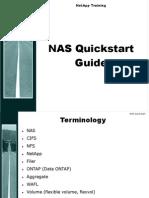 NetApp NAS Quickstart Guide
