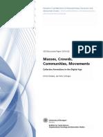 Dolata Schrape 2014 – Masses, Crowds, Communities, Movements
