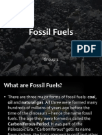 Fossil Fuels - Group Presentation