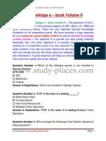 General Knowledge E Book II 2014