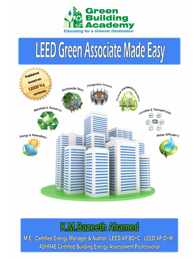 Free leed green associate made easy v4 study guide leadership in free leed green associate made easy v4 study guide leadership in energy and environmental design green building xflitez Images