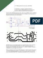 Stabilizator in Comutatie 12V 500mA, Protectie La Scurcircuit, Cu MC34063