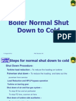 Boiler Normal Shut Down