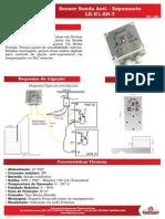 Sensor Sonda Anti Espumante LE N1 SD T