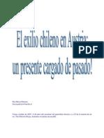 El exilio chileno en Austria un presente cargado de pasado