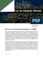 De Rol Van Het Internetecosysteem in EDM