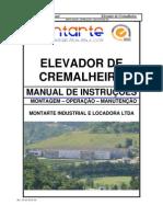 Manual Cremalheira