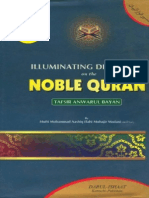 Illuminating Discourses On The Noble QurantafseerAnwarulBay'an Volume 3 By Shaykh Ashiq Ilahi Madni r.a