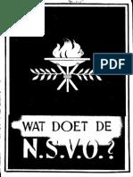 Wat doet de N.S.V.O.