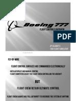 B777 Lesson 1 - Flight Control