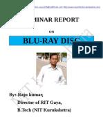 blu-ray disc (seminar report)