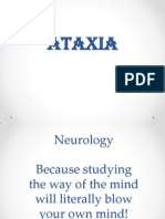 Ataxias Neuro Condition detailed