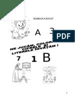 carticica litere numere