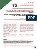 A Figura Do Bloco de Convencionalidade Nas Decisões Proferidas Pela Corte Interamericana de Direitos