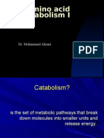 5-Amino acid catabolism I(12 Oct)