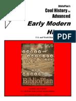 Early Modern CHA Three-week Sample