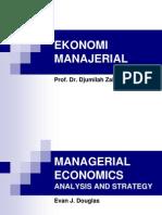 Managerial Economics Douglas-All In