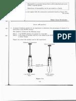 Biology SPM 2004 Paper 3