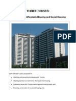 David Soknacki Housing Policy