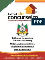 Administração e Organização Judiciária - Material de Concurso