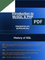 MySQL by PRavin