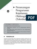 Topik 8 Perancangan Pengurusan Kejohanan Olahraga (Teknikal)