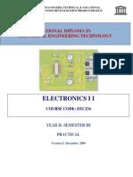 EEC 234 Electronics 2 Practical