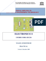 EEC 234 Electronics 2 Practical