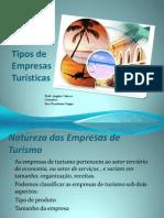 Tipos de Empresas Turísiticas