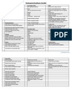 Preschool Checklist1