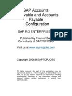 SAP Accounts Receivable and Accounts Payable Configuration