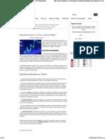 Opciones Binarias vs Forex ¿Qué Es Mejor- - Análisis Fundamental