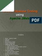 JMeter - Oracle Database Testing