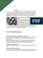 Novel H1N1 Flu
