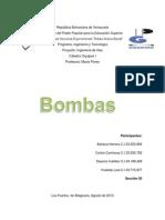 Informe de Bombas