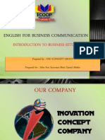 English for Business Communication (2)