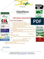 11th August,2014 Daily Global Rice E-Newsletter by Riceplus Magazine