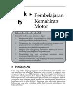Topik 6 Pembelajaran Kemahiran Motor