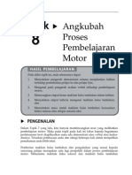 Topik 8 Angkubah Proses Pembelajaran Motor