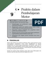 Topik 9 Praktis Dalam Pembelajaran Motor