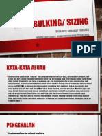 Asas Bulking Oleh Ayez Shaukat Fonseka