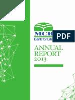 MCB Annual Report 2013