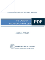 Book on Bank Secrecy Law