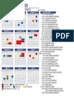 2014 2015 12 month calendar
