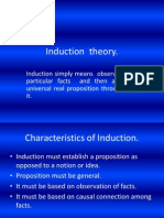 Induction Theory