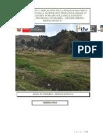Proyecto de Inversion Publica Memoria Villa Rica